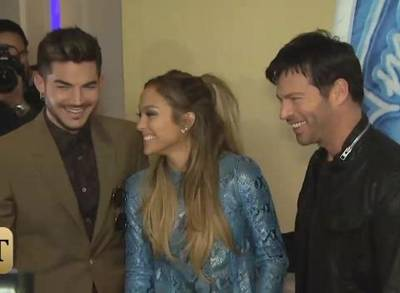 News video: Adam Lambert Talks J.Lo Love and Guest Judging on 'Idol'