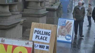 News video: Polls open in historic Scottish independence vote